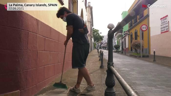 Video: Vulkanausbruch auf La Palma: Mehr als 400 Mio. Euro Schäden