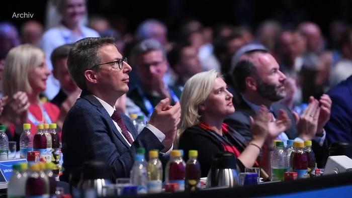 News video: CSU-Generalsekretär Blume: Union nach Wahl vor Erneuerung