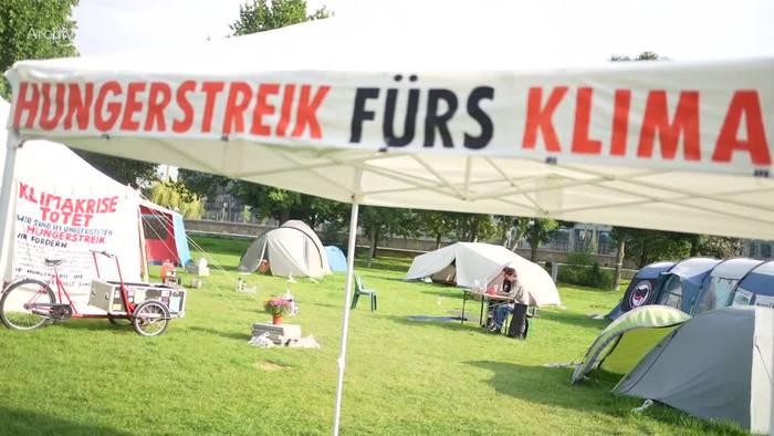 News video: Klima-Hungerstreik: Fast alle Aktivisten geben auf