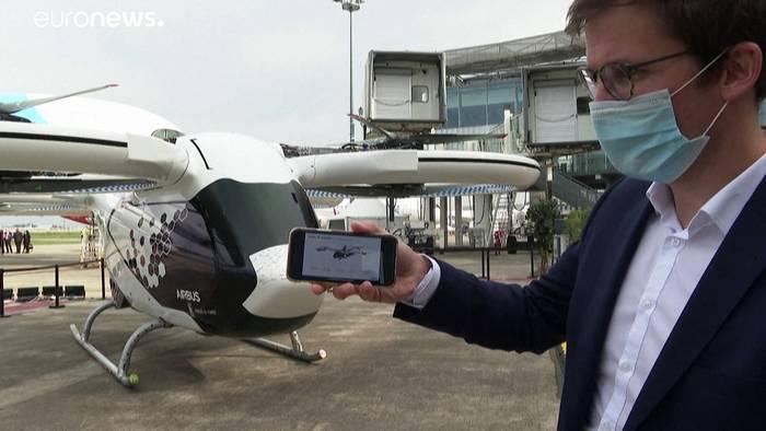 News video: Fliegendes E-Taxi ab 2023 am Himmel?