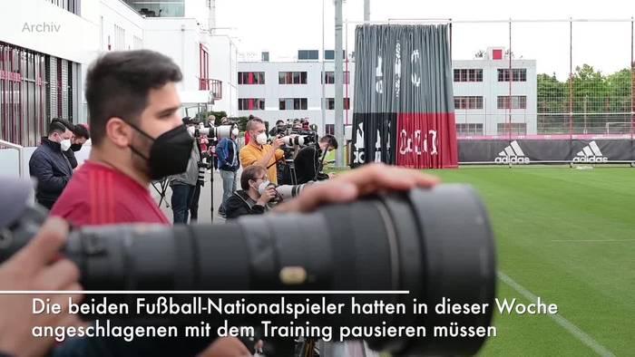 News video: FC Bayern: Gnabry und Musiala wieder fit - Coman trainiert