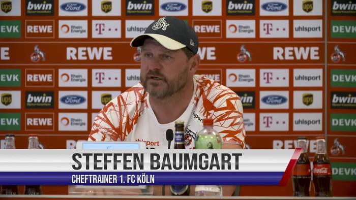 """Video: Steffen Baumgart: """"Werden immer was finden, wo der Alte was zu meckern hat"""""""
