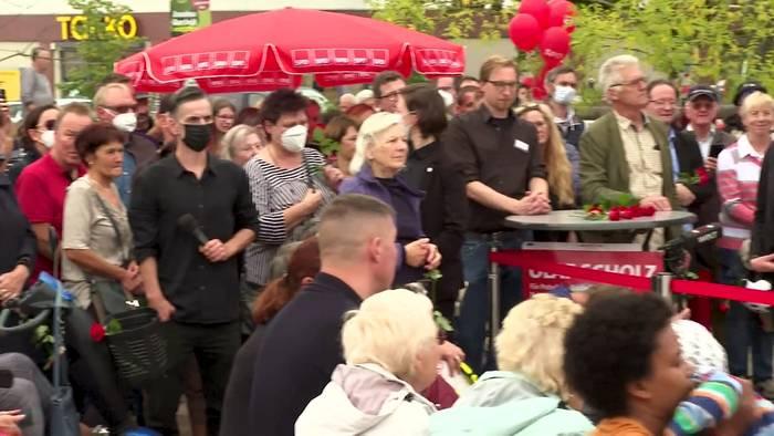 News video: Wahlkampfabschluss der SPD: Häuser bauen für die Gigabit-Gesellschaft