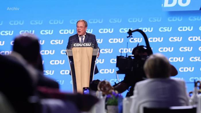 News video: Letzte Umfrage: SPD nur noch ein Punkt vor Union