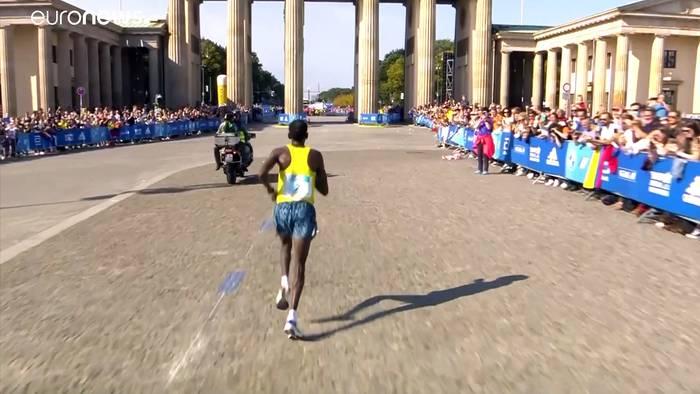 News video: Adola gewinnt Berlin-Marathon