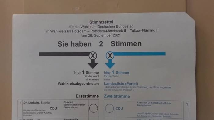 News video: Bundestagswahl hat begonnen - knapper Ausgang erwartet