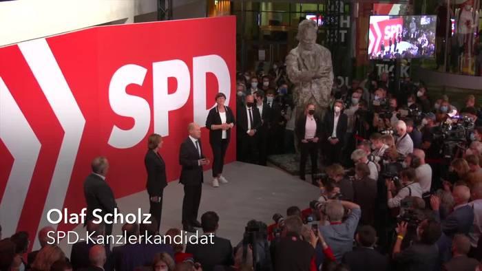 News video: Scholz: SPD hat Regierungsauftrag