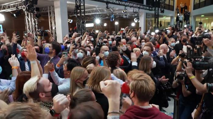 News video: #btw21: Möge der Koalitionspoker beginnen