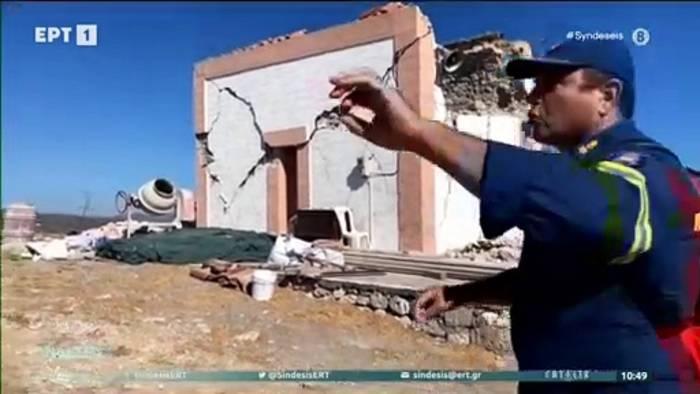 News video: Erdbeben auf Kreta - Mindestens ein Toter