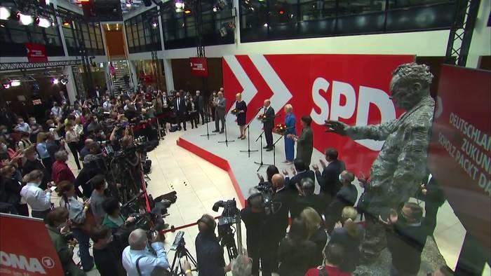 News video: Erste Regierende Bürgermeisterin für Berlin - Franziska Giffey läuft sich warm