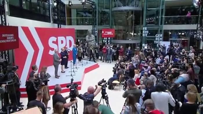 News video: Regierung in Deutschland