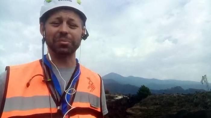 Video: La Palma: Glühend heiße Lava fließt Richtung Meer, Angst vor Gift-Dämpfen