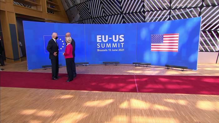 Video: Auftaktberatungen des EU-US-Handels- und Technologierats in Pittsburgh