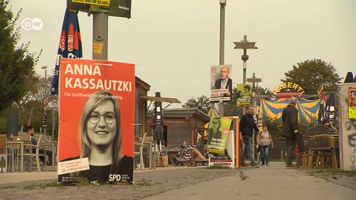 News video: Merkels Wahlkreis geht an eine junge SPD-Politikerin
