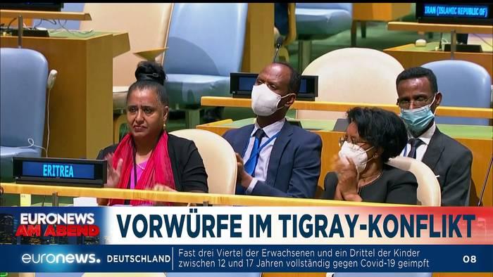 News video: Ein tobender Vulkan und Druck auf Laschet - Euronews am Abend 28.09.