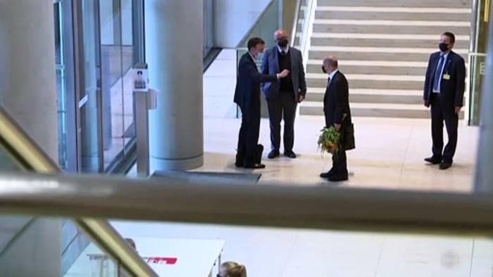 Video: Erste Ampel-Gespräche: SPD, Grüne und FDP vereinbaren Treffen