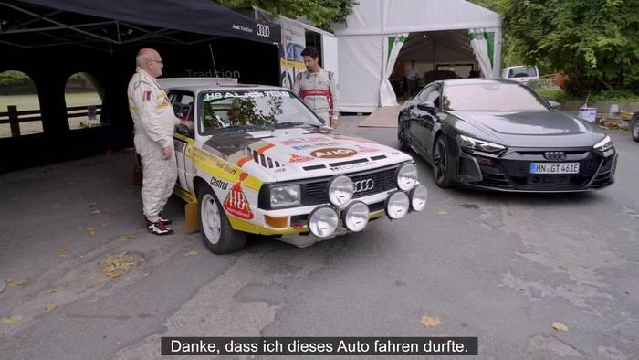 News video: Audi - Zwei Weltmeister von 1984 und 2017 tauschen die Cockpits