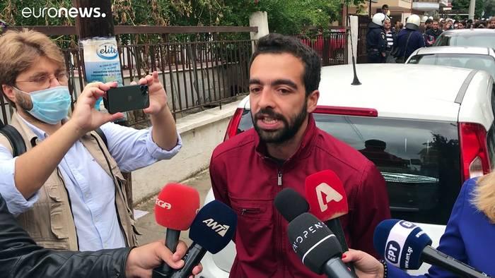 Video: Molotowcocktails an der Schule: In Thessaloniki kocht die Gewalt über