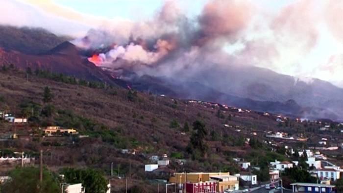 News video: Dämpfe mit Salzsäure: Lage auf La Palma bleibt brenzlig