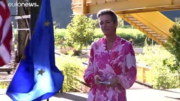 News video: Gemeinsam stärker: Erste Sitzung von EU-US-Technologierat