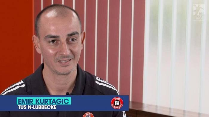 Video: Aufsteiger-Trainer Emir Kurtagic (TuS N-Lübbecke) präsentiert seine