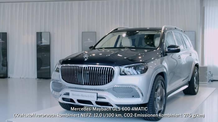 """News video: 100 Jahre Maybach Automobilbau - Weltpremiere der limitierten Jubiläumsedition """"Edition 100"""""""