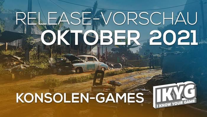 News video: Games-Release-Vorschau - Oktober 2021 - Konsole