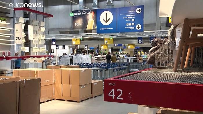 News video: Keine Lösung in Sicht: Stockende Lieferketten sorgen für leere Regale bei Ikea und Co.
