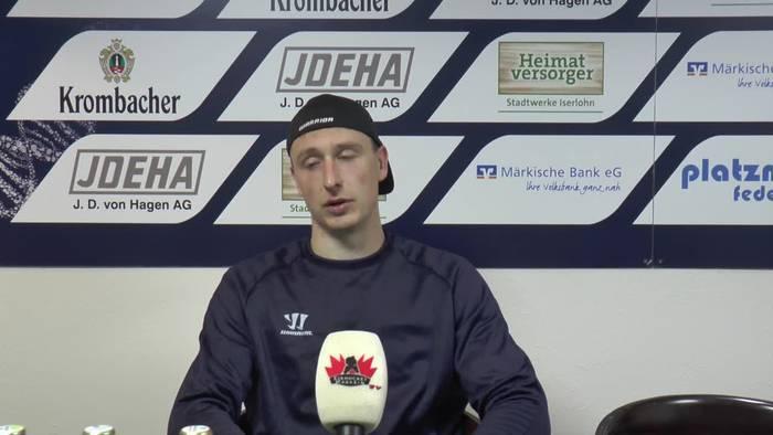 """News video: Iserlohns Top-Goalie Andreas Jenike: """"Wir haben eine unglaubliche Kulisse"""""""