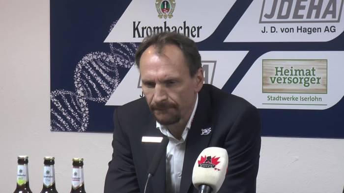 News video: Pavel Gross hadert mit den Strafen gegen seine Adler Mannheim