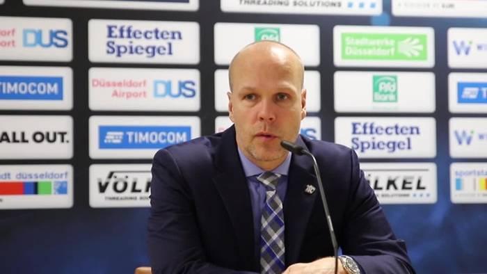 News video: Das sagen Harry Kreis und Stefan Ustorf zum knappen Sieg der DEG gegen die Ice Tigers