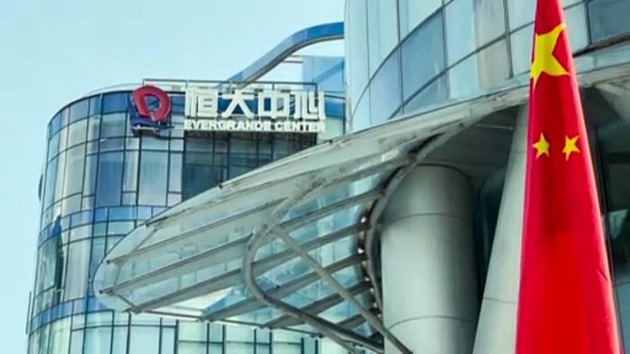 News video: Börse Hongkong: Handel mit Evergrande-Aktien ausgesetzt