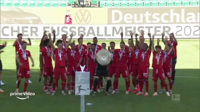 Video: In der Kabine mit den FC-Bayern-Stars: Erster Trailer zu