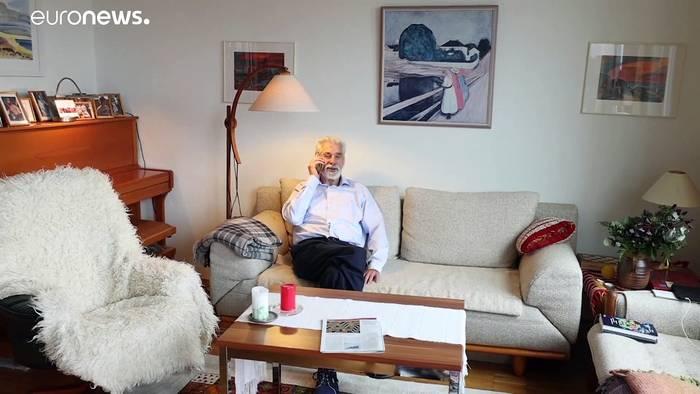 News video: Nobelpreisträger Hasselmann (89) freut sich über