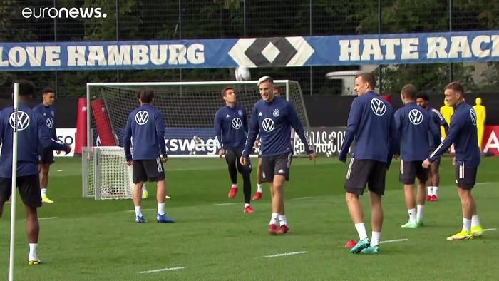 Video: WM-Qualifikation: Deutschland trifft in Hamburg auf Rumänien