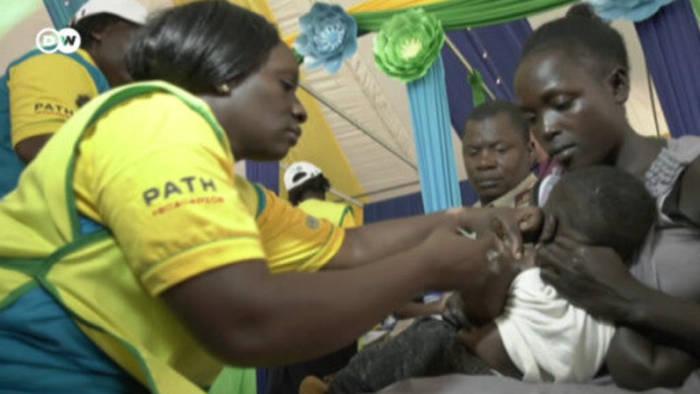 News video: Durchbruch bei der Malariabekämpfung: Impfstoff für Kinder