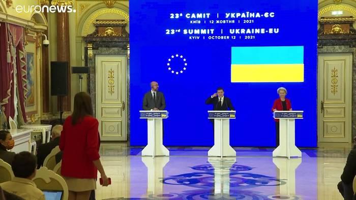 Video: EU verspricht Ukraine Einsatz für Versorgungssicherheit