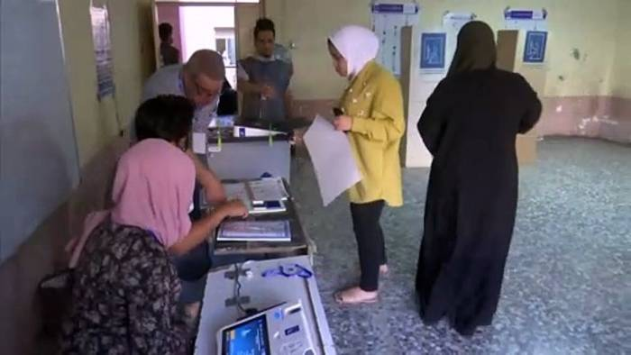 News video: Wahl im Irak: Pro-iranische Fatah zweifelt Ergebnis an - EU lobt