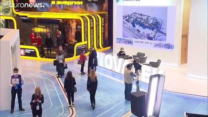 News video: Gas-Krise: Putin weist Verantwortung zurück und unterbreitet Angebot