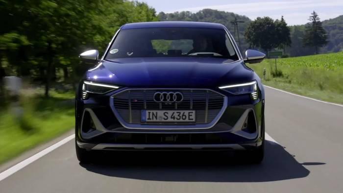 News video: Der Audi e-tron S und der Audi e-tron S Sportback - die digitalen Matrix LED-Scheinwerfer