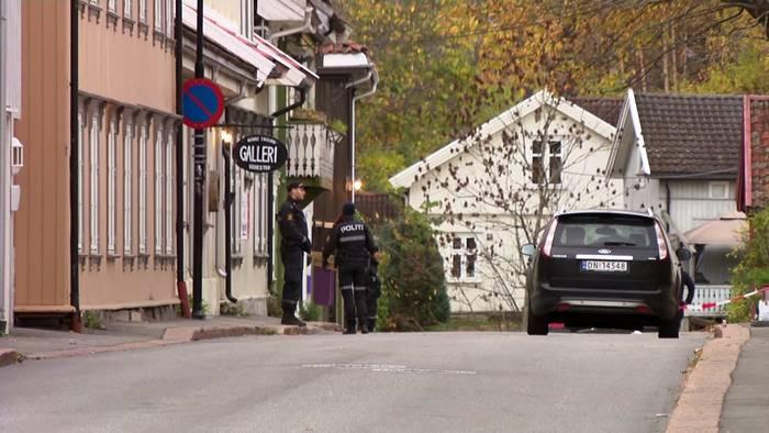 Video: Kongsberg: Gewalttat wird als Terrorakt eingestuft