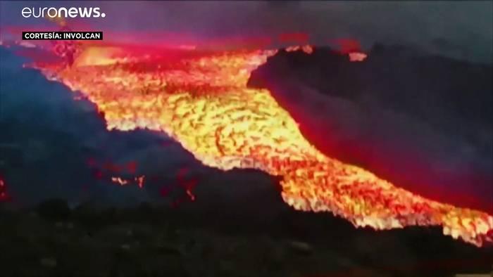 News video: Tsunami-Vergleich: Lava auf La Palma strömt deutlich schneller