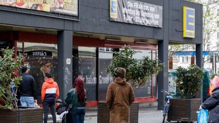News video: Aldi, Rewe & Co.: Hessen erlaubt 2G-Regelung im Supermarkt