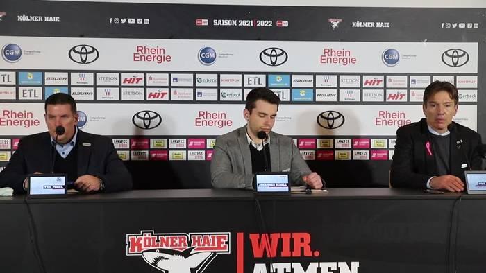 Video: Das sagt Haie-Coach Uwe Krupp zur Pleite gegen Straubing