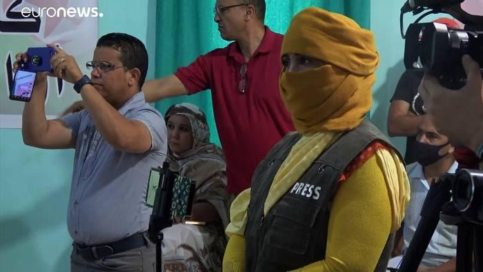 News video: Konflikt in der West-Sahara - Polisario kämpft um Unabhängigkeit