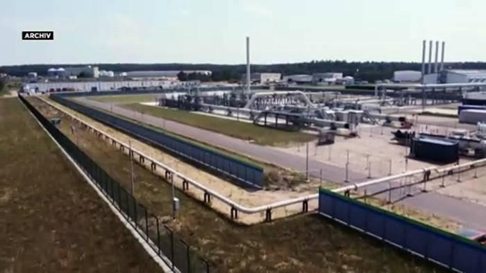 Video: Es ist angerichtet: Nord Stream 2 mit technischem Gas befüllt