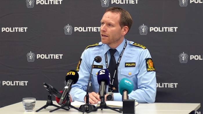 News video: Attentäter von Kongsberg tötete mit Stichwaffe