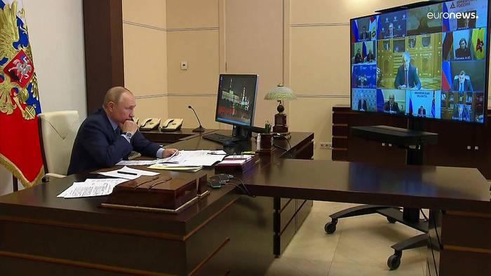 News video: Über 1000 Covid-Tote pro Tag: Russland verordnet Beschäftigten Freiwoche