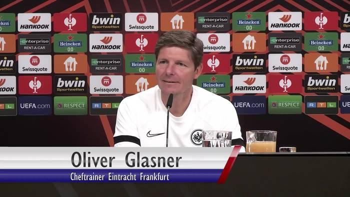 News video: Frankfurts Cheftrainer Oliver Glasner: