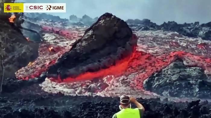 News video: Asche, Gas und Lava: Pyroklastische Ströme auf La Palma